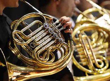 Photo d'un orchestre de cor