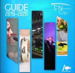 Couverture du guide du Nouveau Cap 2019-2020