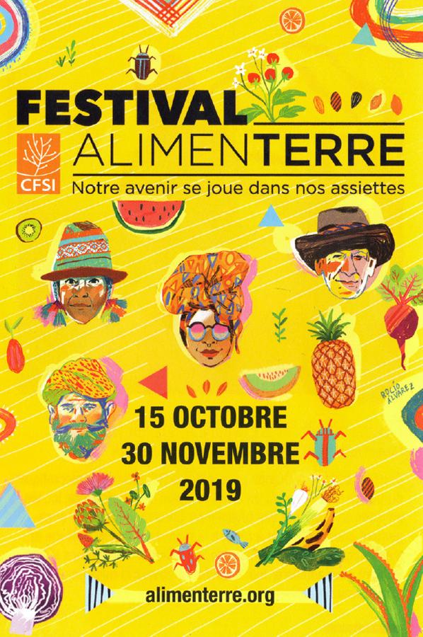 festival alimenterre affiche