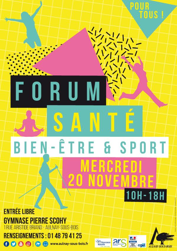 Affiche forum santé